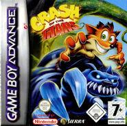 Crash of the Titans GBA EU