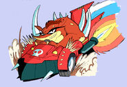 Crash Clash Racing Evil Crash
