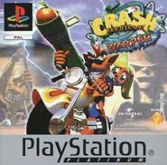 Crash Bandicoot Warped PAL Platinum