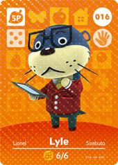 Amiibo AC Lyle card