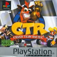 Crash Team Racing Platinum French boxart