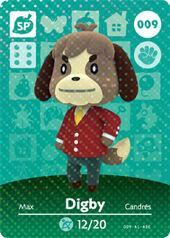 Amiibo AC Digby card