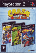 Crash Bandicoot Action Pack PS2 PAL