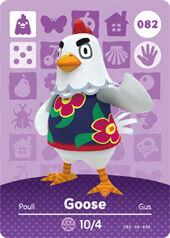Amiibo AC Goose card