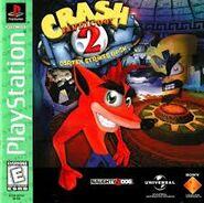 Crash Bandicoot 2 NA Greatest Hits boxart