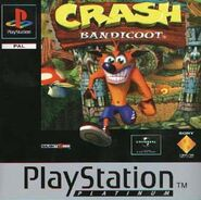 Crash Bandicoot 1 PAL Boxart