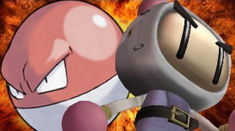 Bomberman Vs Voltorb- Gaming All Star Rap Battles Season 2
