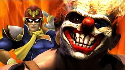 Captain Falcon Vs Sweet Tooth- Gaming All Star Rap Battles Season 2