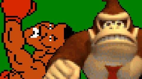 Mike Tyson vs Donkey Kong