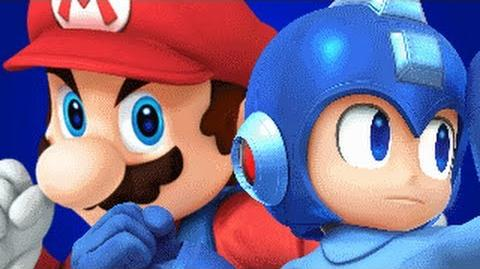 Mario Vs Mega Man REMASTERED- Gaming All Star Rap Battles 1 YEAR ANNIVERSARY-0