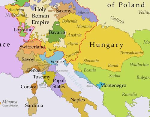 Habsburge empire