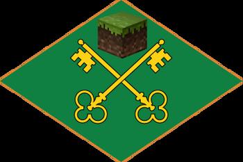 Minecraftism Flag