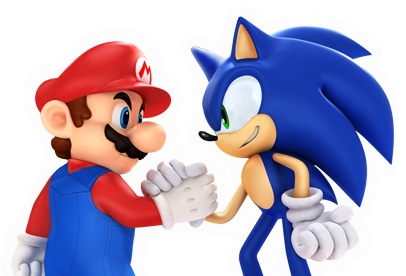 File:Sonic with mario pose 2.png