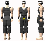 VF Akira Yuki character model