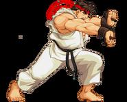 Ryu hadoken pose