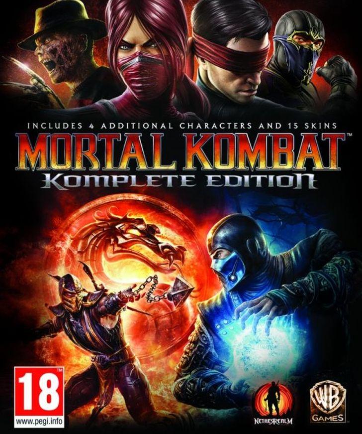 Mortal kombat: komplete edition | gaming database wiki | fandom.