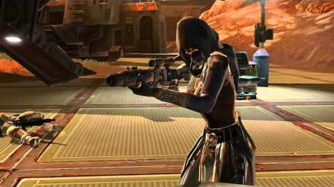 Star Wars The Old Republic - Imperial Agent Progression Trailer