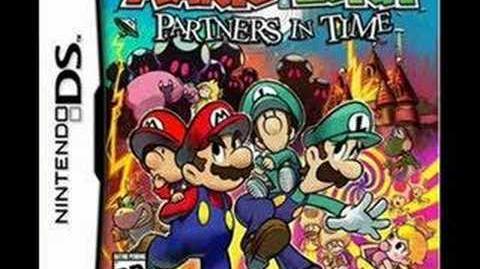 Mario & Luigi Partners in Time Music princess shroob battle