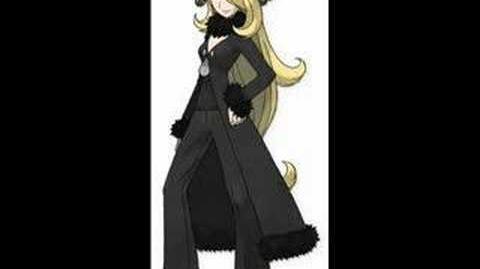 Pokemon D P Music - Champion Cynthia