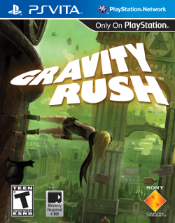 Gravity rush US cover