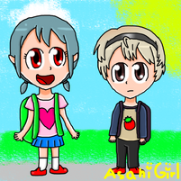 Child emblem fates akari kamui and leo by asahigirl-d9n3t01