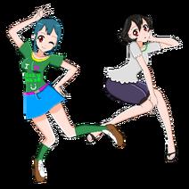 Akari and Hanabi