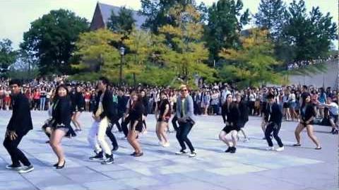 Cornell University Flash Mob - Gangnam Style