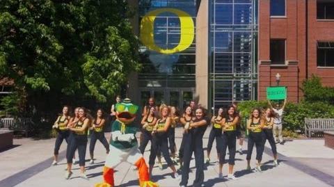 The Oregon Duck - Gangnam Style Parody