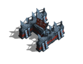 Barricade metal h