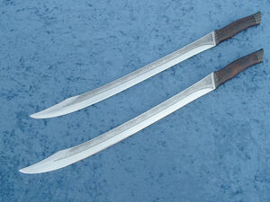 Twin short swords by odinblades