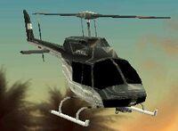 Helicóptero policial