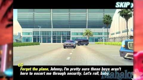 Gangstar Miami Vendication for iPhone Walkthrough part 66 - Airport Adios