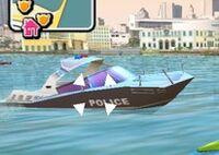 Lancha de la policia