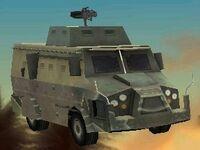 Camioneta del BAPD