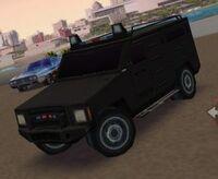 Furgón del SWAT