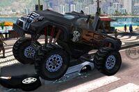 Monster Truck negro