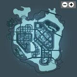 Gangstar Vegas Map/Locations