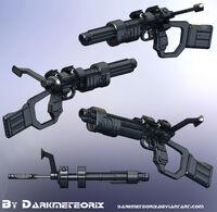 X Shotgun Final by Darkmeteorix
