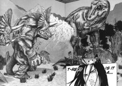 Gantz T-Rex alien