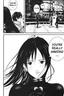 Gantz Reika smitten with kurono