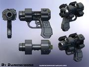 X GUN Final by Darkmeteorix