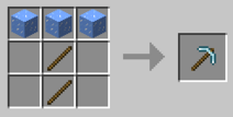 Icy Pickaxe Recipe