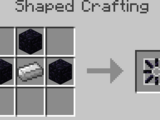 Obsidian head