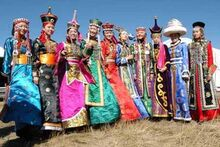 Mongolians holding a festival to prepare to enter the system