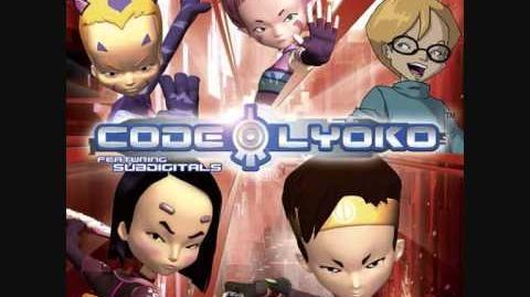 ENGLISH Code Lyoko Ft. Subdigitals - 10. World With My Eyes