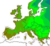 EU Hardiness 3 to 9