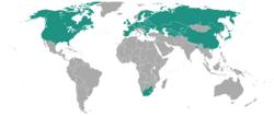 Potato rot nematode geographical distribution