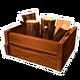 Wood Storage Crate