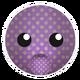 Purple Yellow Dots Bunny