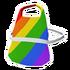 Rainbow Apron